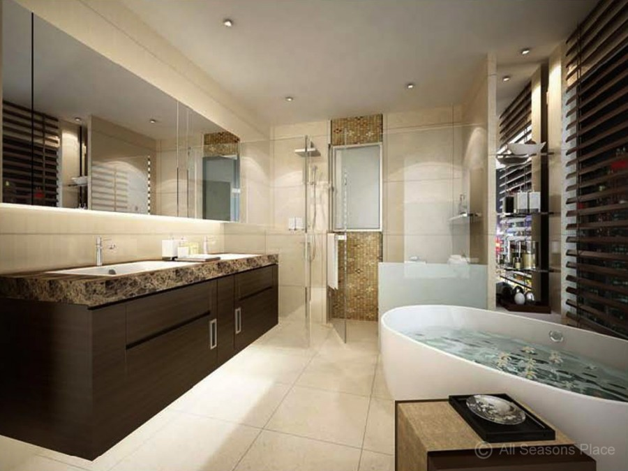 Luxury bathroom photo luxurious remodel ideasg modern for Beautiful modern bathrooms